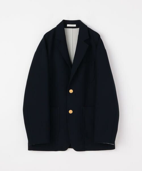 TOMORROWLAND / トゥモローランド テーラードジャケット | プレーンダブルフェイス オーバーサイズドジャケット | 詳細14