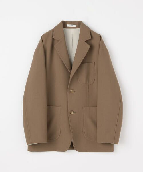 TOMORROWLAND / トゥモローランド テーラードジャケット | プレーンダブルフェイス オーバーサイズドジャケット | 詳細15