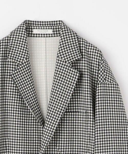 TOMORROWLAND / トゥモローランド テーラードジャケット | プレーンダブルフェイス オーバーサイズドジャケット | 詳細5