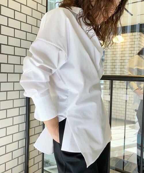 TOMORROWLAND / トゥモローランド シャツ・ブラウス | コットンブロード 2-wayシャツ(11 ホワイト)