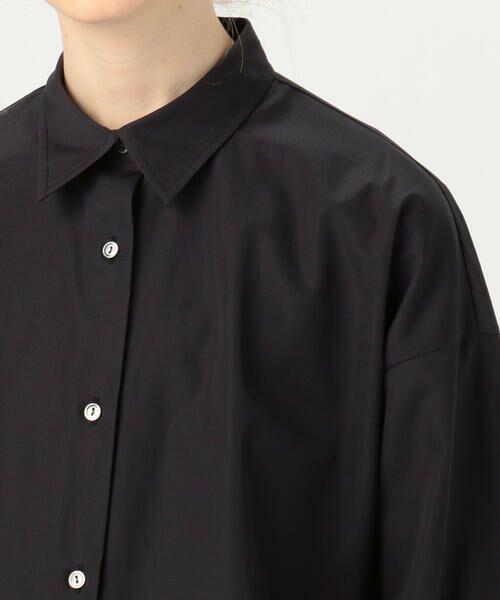 TOMORROWLAND / トゥモローランド シャツ・ブラウス | コットンブロード 2-wayシャツ | 詳細11