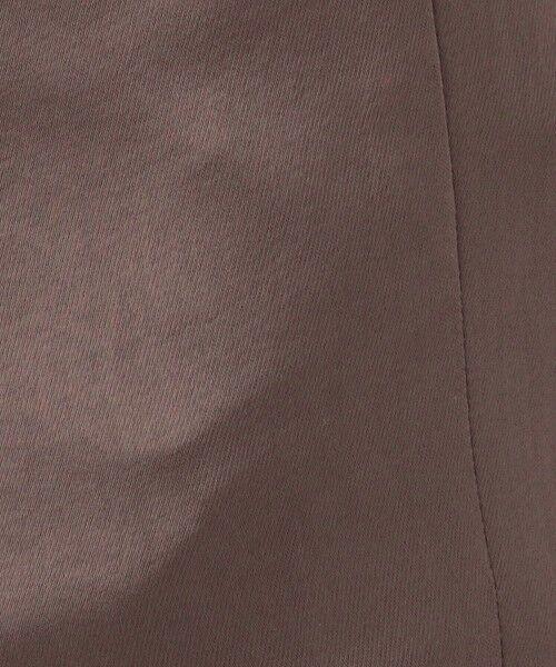 TOMORROWLAND / トゥモローランド ショート・ハーフ・半端丈パンツ   ビンテージサテン ストレートパンツ   詳細10