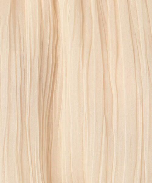 TOMORROWLAND / トゥモローランド シャツ・ブラウス | ランダムプリーツジョーゼット フレンチスリーブブラウス | 詳細19
