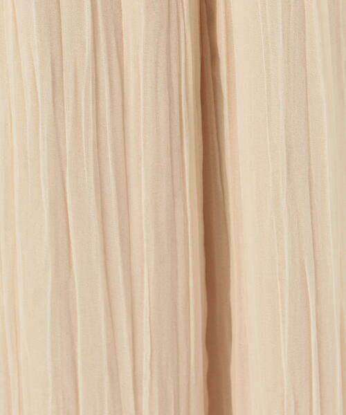 TOMORROWLAND / トゥモローランド その他パンツ   ランダムプリーツジョーゼット イージーワイドパンツ   詳細11