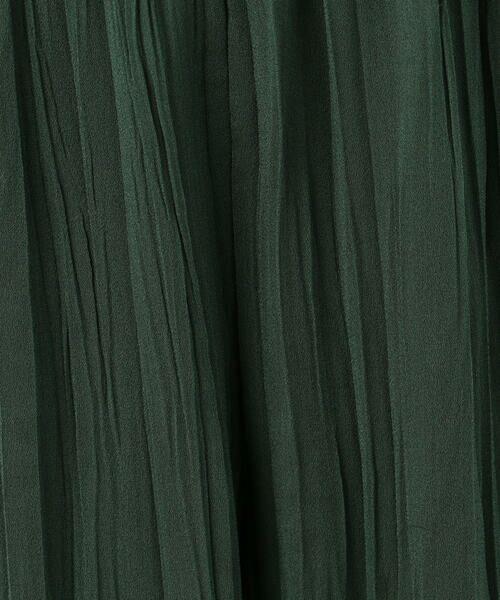 TOMORROWLAND / トゥモローランド その他パンツ   ランダムプリーツジョーゼット イージーワイドパンツ   詳細7