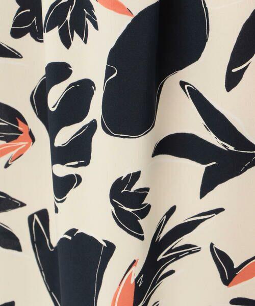TOMORROWLAND / トゥモローランド ロング・マキシ丈スカート | ブラッシュボタニカルプリント ギャザーミディスカート | 詳細6