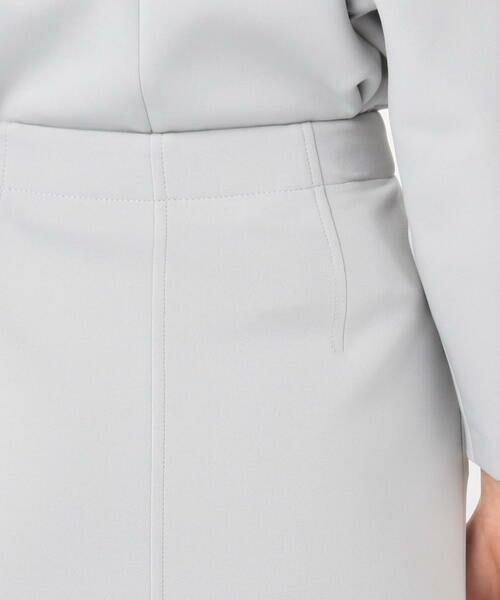 TOMORROWLAND / トゥモローランド ミニ・ひざ丈スカート | ソフトダンボール Iラインスカート | 詳細8