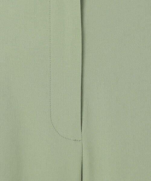 TOMORROWLAND / トゥモローランド ショート・ハーフ・半端丈パンツ | オックスストレッチ セミワイドクロップドパンツ | 詳細11