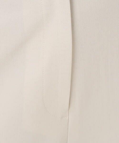 TOMORROWLAND / トゥモローランド ショート・ハーフ・半端丈パンツ | オックスストレッチ セミワイドクロップドパンツ | 詳細6