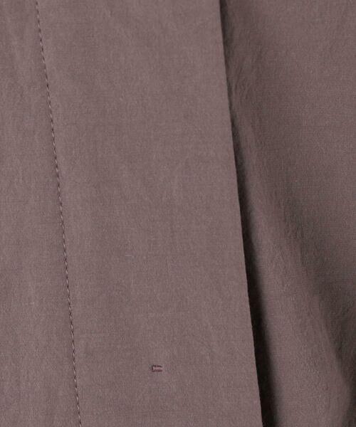 TOMORROWLAND / トゥモローランド シャツ・ブラウス | ライトコットンストレッチ フレンチスリーブシャツ | 詳細8