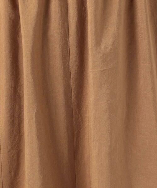 TOMORROWLAND / トゥモローランド ミニ・ひざ丈スカート | コットンシルクタイプライター マーメイドマキシスカート | 詳細10