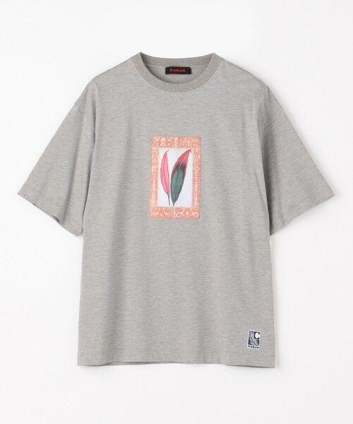 TOMORROWLAND / トゥモローランド カットソー | CABaN NEW CSTARICA アートTシャツ(15 グレー)