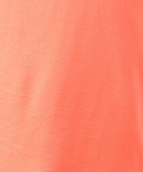 TOMORROWLAND / トゥモローランド ミニ丈・ひざ丈ワンピース   CABaN ポリエステルサテン Vネックロングワンピース   詳細4