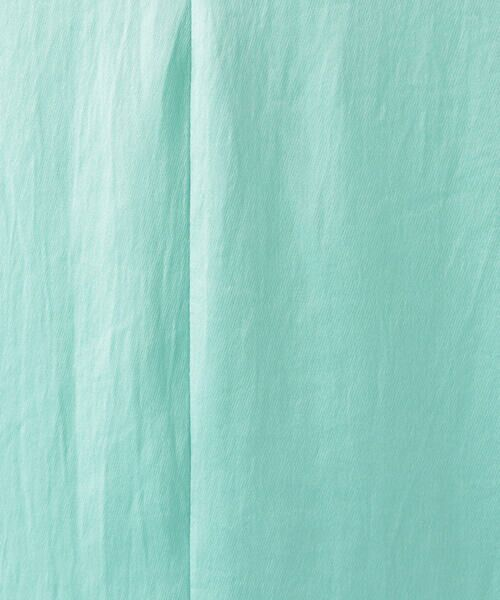 TOMORROWLAND / トゥモローランド ミニ丈・ひざ丈ワンピース   CABaN ポリエステルサテン Vネックロングワンピース   詳細9
