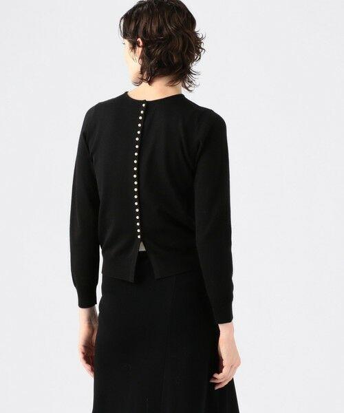 TOMORROWLAND / トゥモローランド ニット・セーター | 【一部予約】ウールポリエステル バックパールボタンプルオーバー | 詳細6