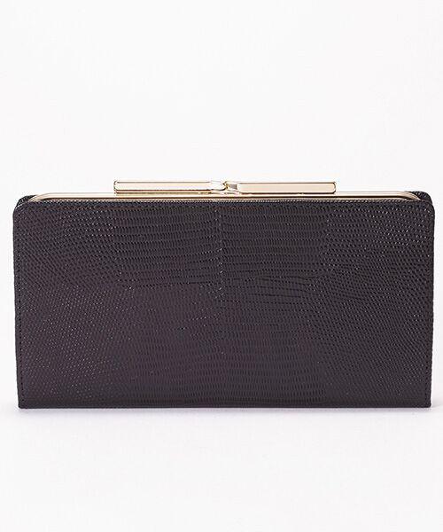 cd8ac95f5c92 TOPKAPI / トプカピ 財布・コインケース・マネークリップ | イタリアンレザー・リザード型押し. ブラック