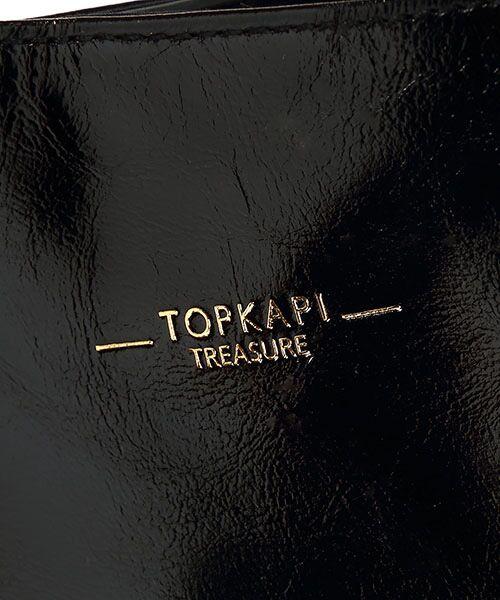 TOPKAPI / トプカピ トートバッグ | ストライプハンドル・ツヤレザーA4トートバッグ | 詳細6