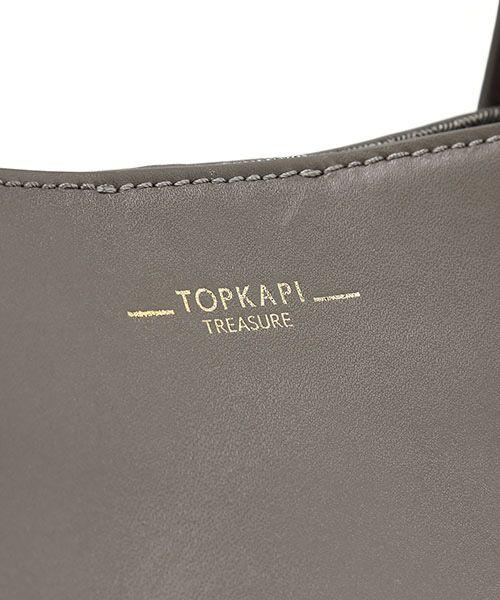 TOPKAPI / トプカピ トートバッグ   スプリットレザーA4トートバッグ   詳細8
