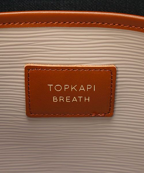 TOPKAPI / トプカピ トートバッグ | [トプカピ ブレス] TOPKAPI BREATH リプルネオレザー2wayA4トートバッグ | 詳細16