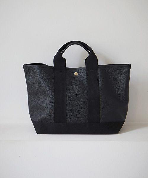 TOPKAPI / トプカピ トートバッグ | 【日本製】スコッチグレインネオレザー・A4トートバッグ(ブラック)