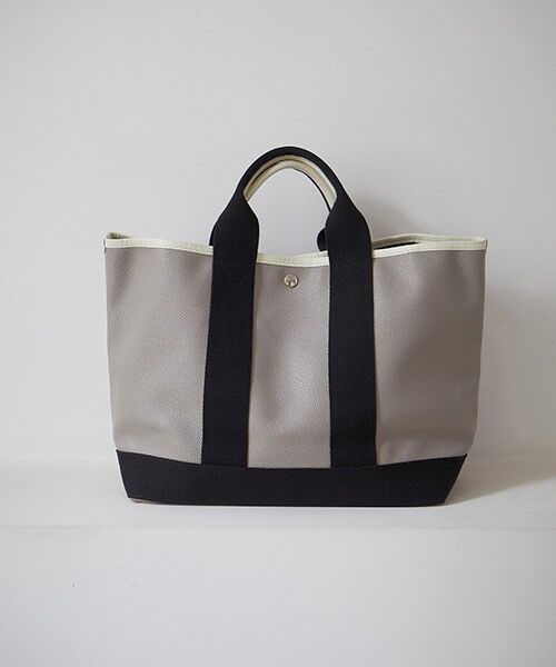 TOPKAPI / トプカピ トートバッグ | 【日本製】スコッチグレインネオレザー・A4トートバッグ(グレージュ)