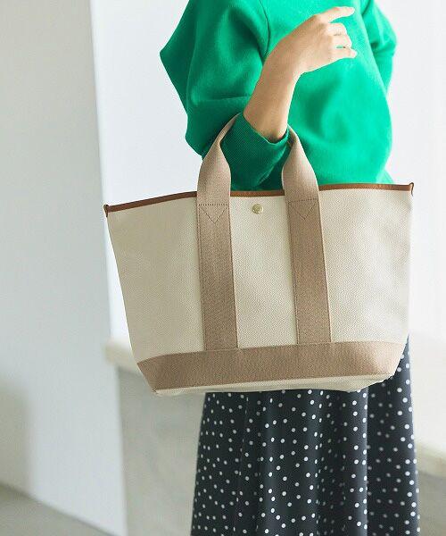 TOPKAPI / トプカピ トートバッグ | 【日本製】スコッチグレインネオレザー・A4トートバッグ(ペールベージュ)