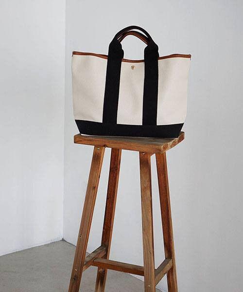 TOPKAPI / トプカピ トートバッグ | 【日本製】スコッチグレインネオレザー・A4トートバッグ(クリーム)