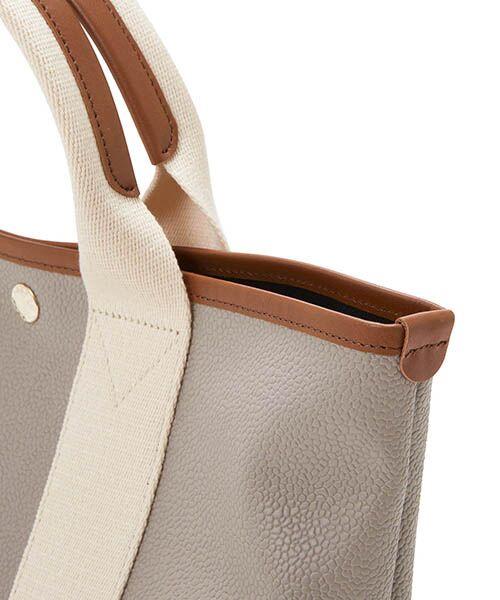 TOPKAPI / トプカピ トートバッグ | 【日本製】スコッチグレインネオレザー・ミニトートバッグ | 詳細2
