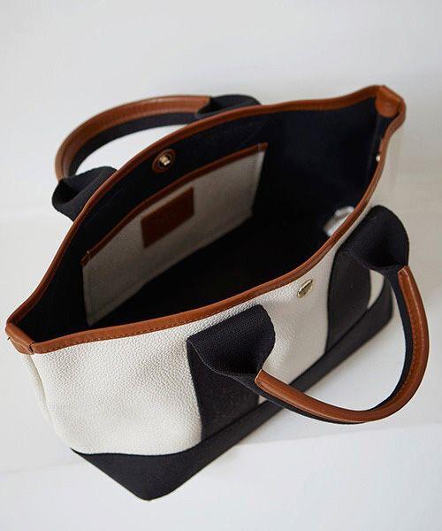TOPKAPI / トプカピ トートバッグ | 【日本製】スコッチグレインネオレザー・ミニトートバッグ | 詳細20