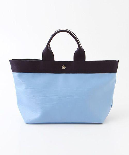 TOPKAPI / トプカピ トートバッグ | 【日本製】リプルネオレザー・A4トートバッグ(ブルー)