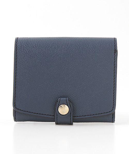 TOPKAPI / トプカピ 財布・コインケース・マネークリップ | 角シボ型押し・折り財布 | 詳細1