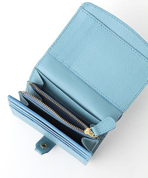 TOPKAPI / トプカピ 財布・コインケース・マネークリップ | 角シボ型押し・折り財布 | 詳細4