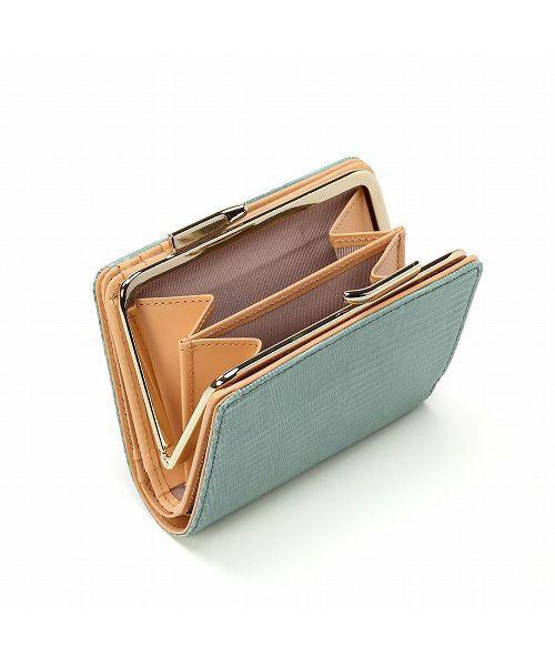 TOPKAPI / トプカピ 財布・コインケース・マネークリップ | イタリアンレザー・リザード型押し・がま口2つ折り財布 | 詳細7