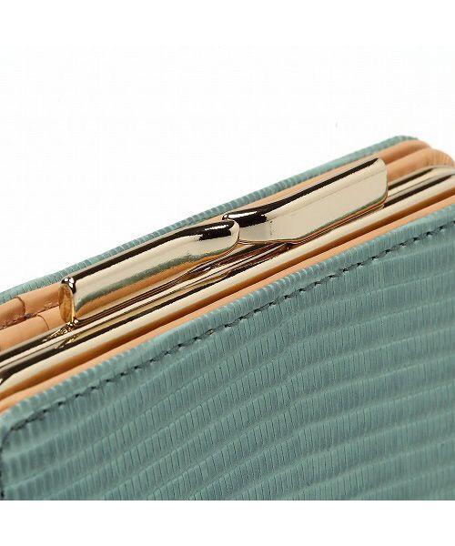 TOPKAPI / トプカピ 財布・コインケース・マネークリップ | イタリアンレザー・リザード型押し・がま口2つ折り財布 | 詳細8