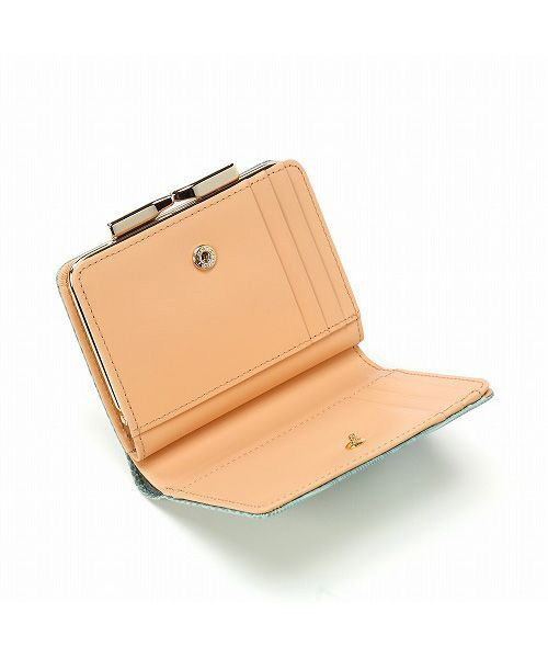 TOPKAPI / トプカピ 財布・コインケース・マネークリップ | イタリアンレザー・リザード型押し・がま口2つ折り財布 | 詳細9