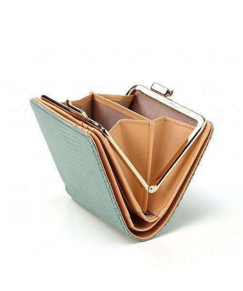 TOPKAPI / トプカピ 財布・コインケース・マネークリップ | イタリアンレザー・リザード型押し・がま口2つ折り財布 | 詳細11
