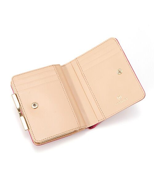 TOPKAPI / トプカピ 財布・コインケース・マネークリップ | イタリアンレザー・リザード型押し・がま口2つ折り財布 | 詳細13