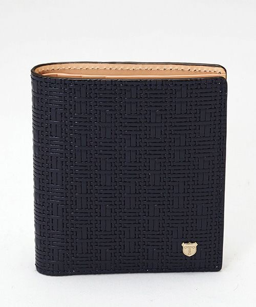 TOPKAPI / トプカピ 財布・コインケース・マネークリップ | RITMO[リトモ]メッシュ柄型押し・二つ折りミニ財布 | 詳細2