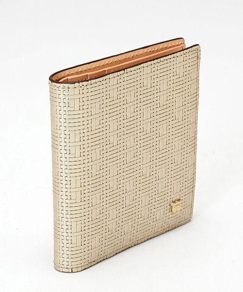 TOPKAPI / トプカピ 財布・コインケース・マネークリップ | RITMO[リトモ]メッシュ柄型押し・二つ折りミニ財布 | 詳細6