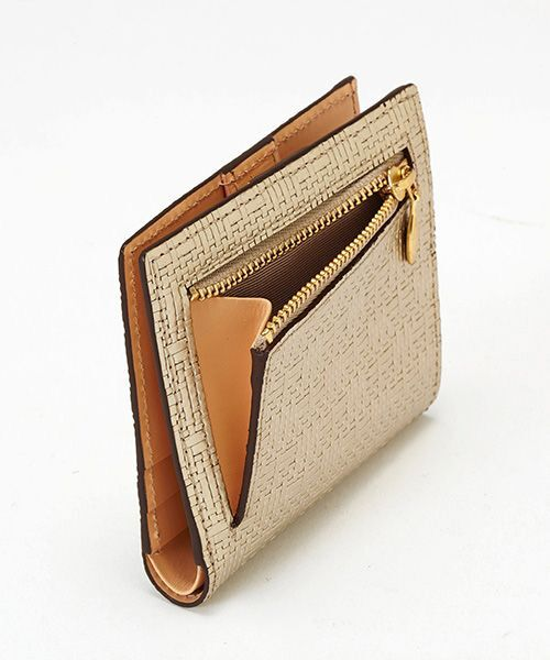 TOPKAPI / トプカピ 財布・コインケース・マネークリップ | RITMO[リトモ]メッシュ柄型押し・二つ折りミニ財布 | 詳細9