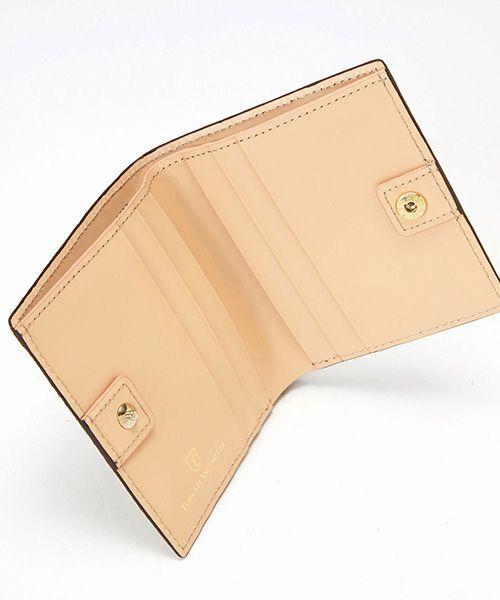 TOPKAPI / トプカピ 財布・コインケース・マネークリップ | RITMO[リトモ]メッシュ柄型押し・二つ折りミニ財布 | 詳細11