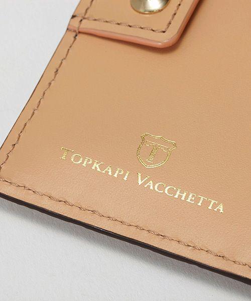 TOPKAPI / トプカピ 財布・コインケース・マネークリップ | RITMO[リトモ]メッシュ柄型押し・二つ折りミニ財布 | 詳細12