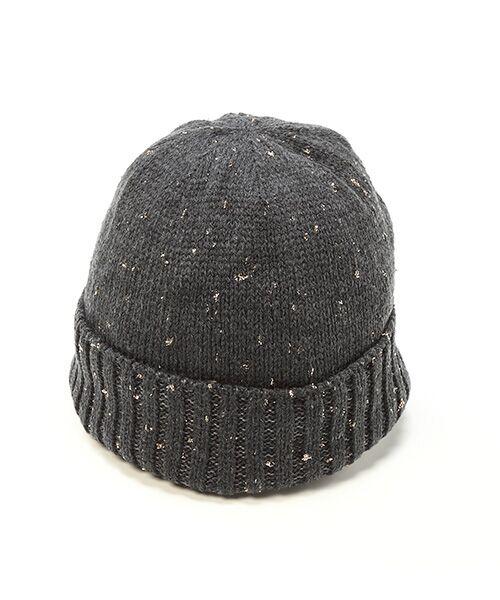 TOPKAPI / トプカピ ニットキャップ | ラメ混ニット帽(チャコールグレー)