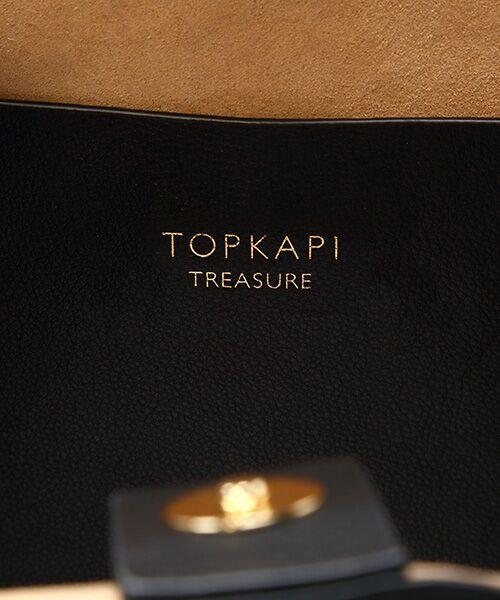 TOPKAPI / トプカピ トートバッグ   シュリンクレザー ベルトデザインA4トートバッグ   詳細11