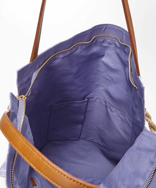 TOPKAPI / トプカピ トートバッグ | [トプカピ トレジャー]TOPKAPI TREASURE マイルドサテン スカーフ パネル柄 トートバッグ | 詳細8