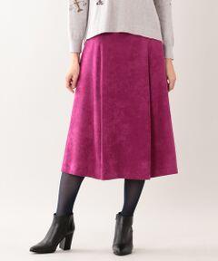 マスカレードスウェードスカート