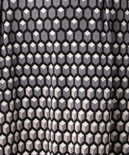 TRANS WORK / トランスワーク ロング・マキシ丈スカート   【ウォッシャブル】【吸水速乾】【UV対策】カラーキュービックジャージースカート   詳細7