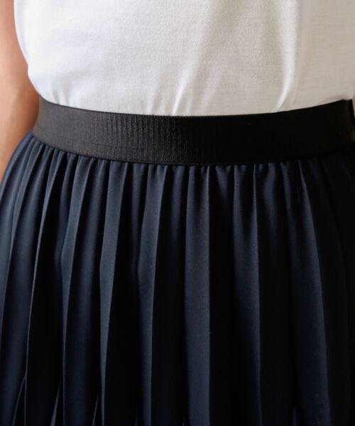 TRANS WORK / トランスワーク ロング・マキシ丈スカート | 【ウォッシャブル】幾何プリーツスカート | 詳細6