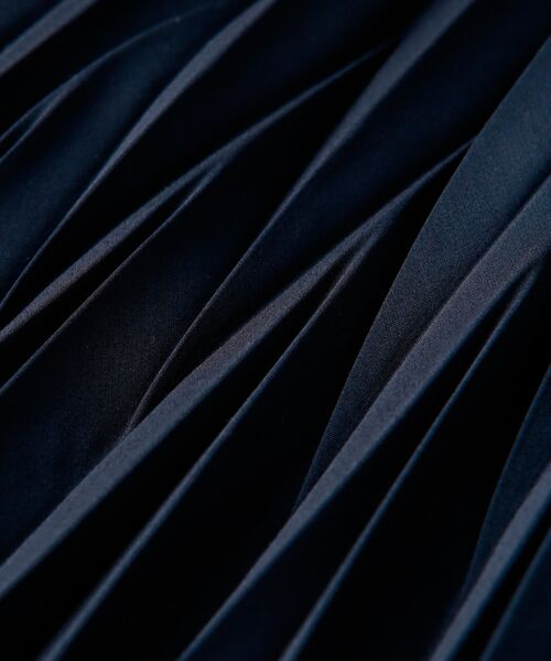 TRANS WORK / トランスワーク ロング・マキシ丈スカート | 【ウォッシャブル】幾何プリーツスカート | 詳細10