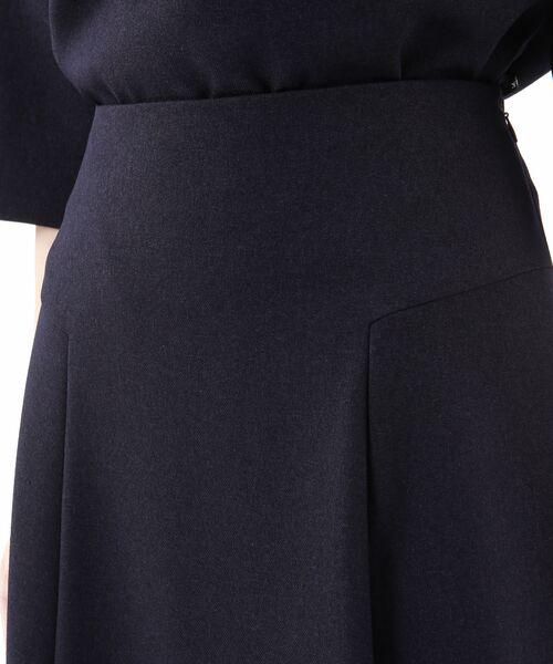 TRANS WORK / トランスワーク ロング・マキシ丈スカート | 【ウォッシャブル】ウーリッシュサージスカート | 詳細6